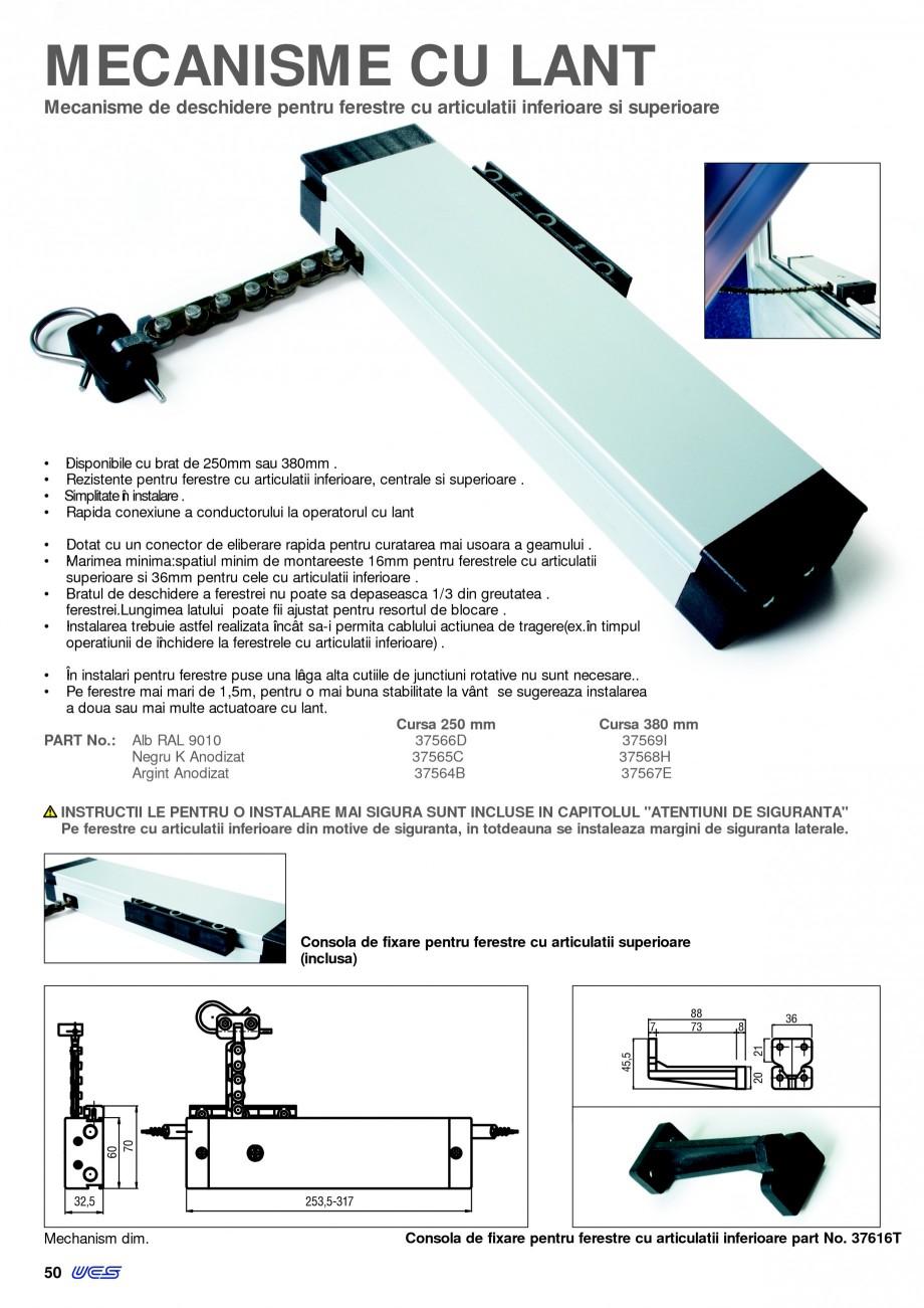 Pagina 5 - Operatori de control pentru actuatorii de ferestre KADRA Catalog, brosura Romana No.bends...