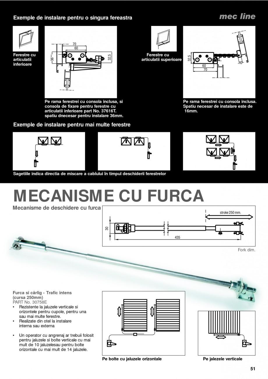 Pagina 6 - Operatori de control pentru actuatorii de ferestre KADRA Catalog, brosura Romana e. î î...