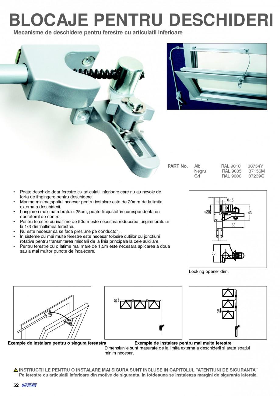Pagina 7 - Operatori de control pentru actuatorii de ferestre KADRA Catalog, brosura Romana ti...