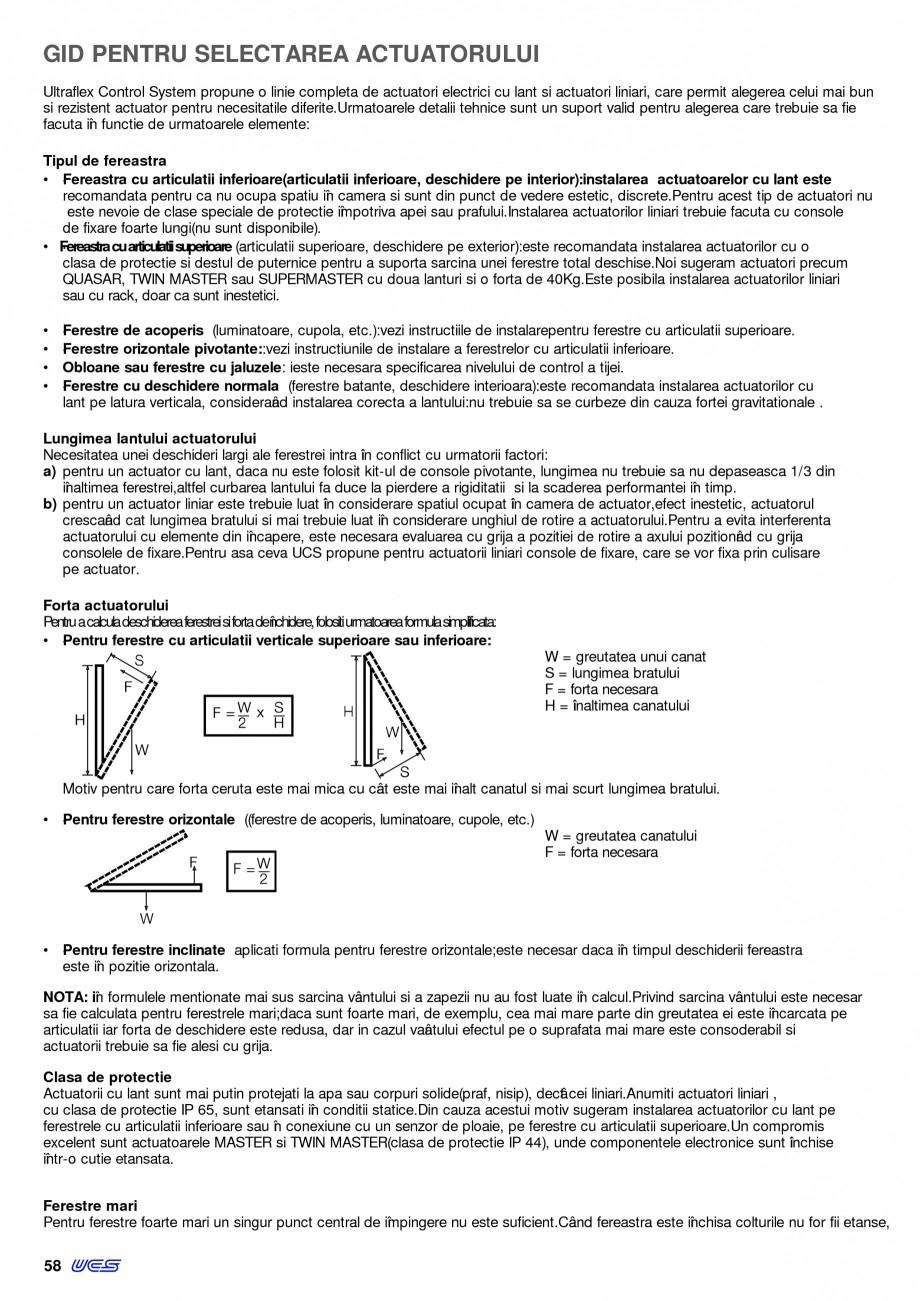 Pagina 13 - Operatori de control pentru actuatorii de ferestre KADRA Catalog, brosura Romana na a...