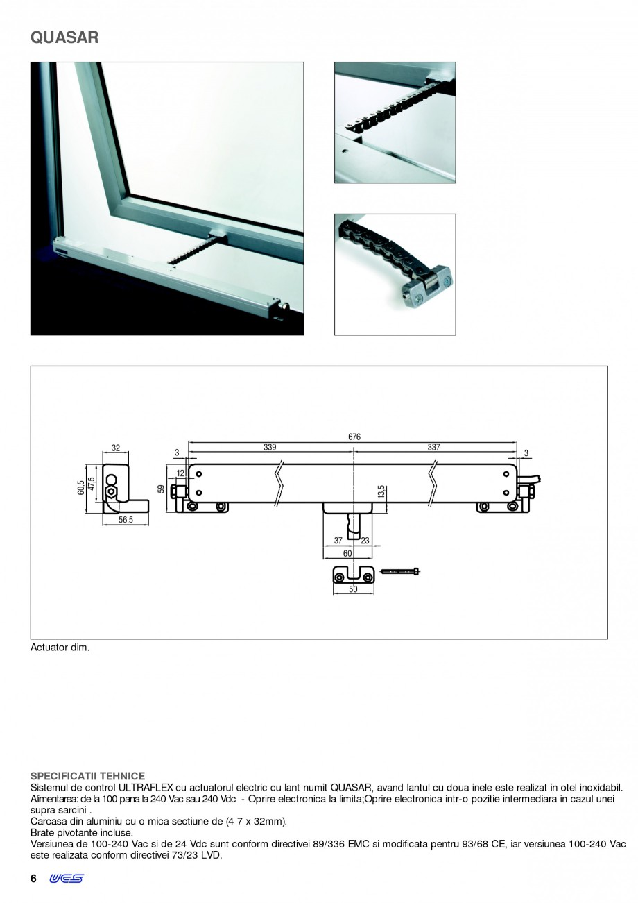 Pagina 3 -  Automatizari profesionale pentru ferestre KADRA Catalog, brosura Romana  11 >5 13,5 32...