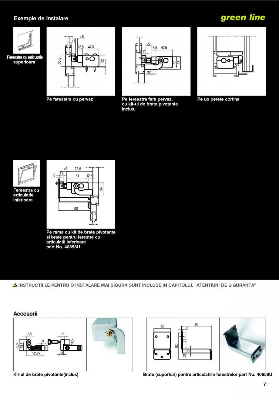 Pagina 4 -  Automatizari profesionale pentru ferestre KADRA Catalog, brosura Romana ecesar, a se...