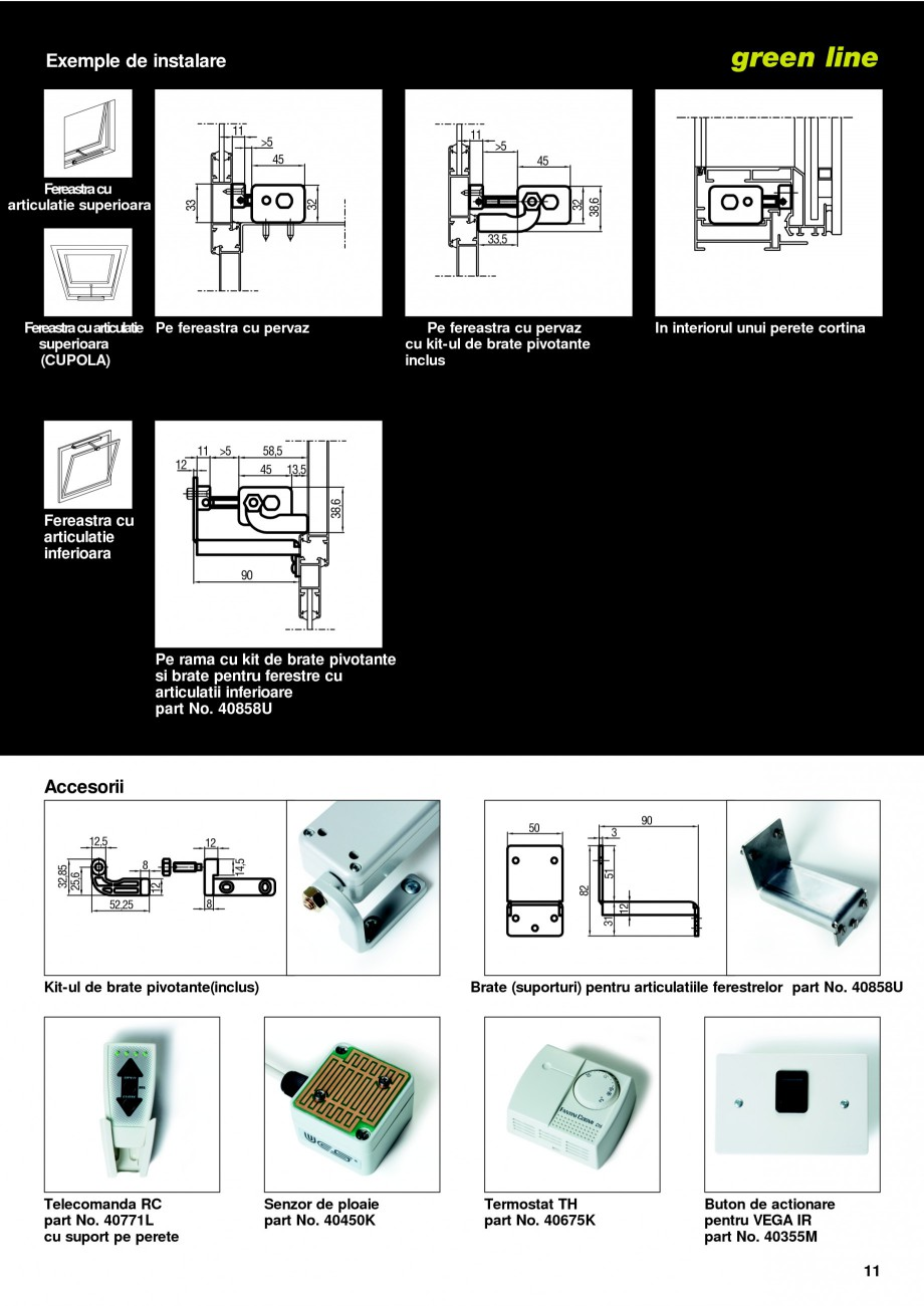 Pagina 8 -  Automatizari profesionale pentru ferestre KADRA Catalog, brosura Romana  lantului de...