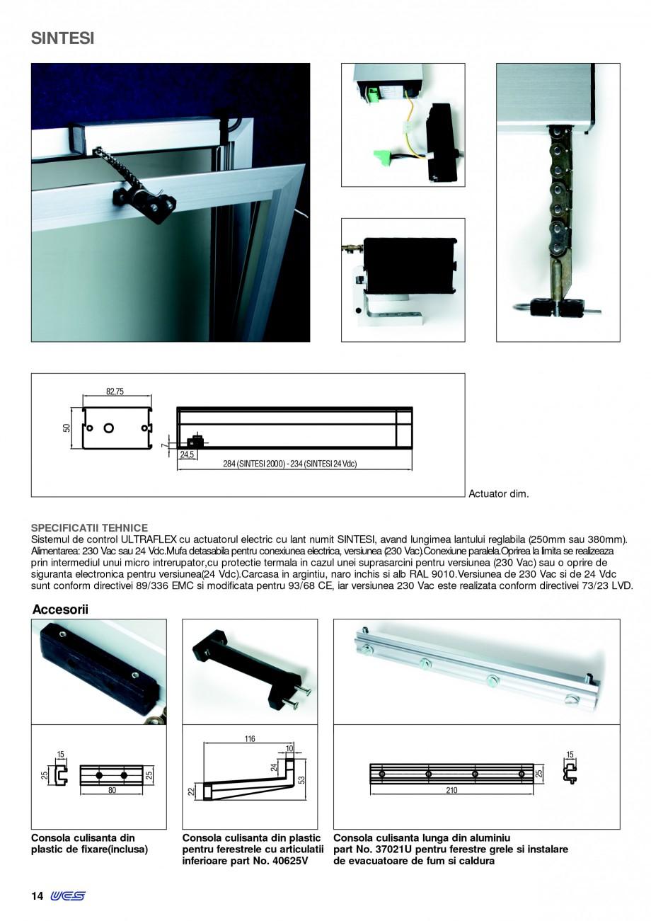 Pagina 11 -  Automatizari profesionale pentru ferestre KADRA Catalog, brosura Romana u fixarea...