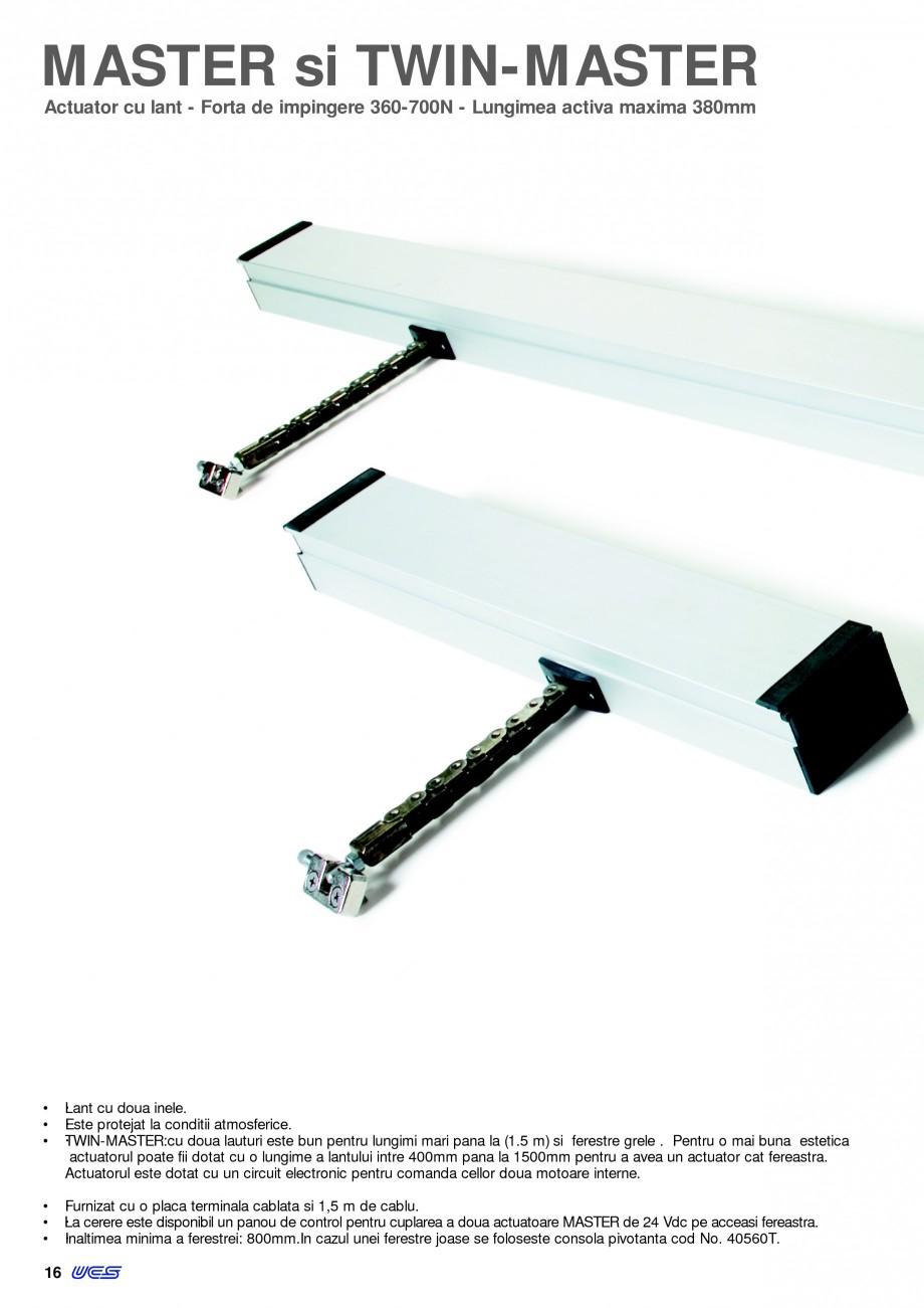 Pagina 13 -  Automatizari profesionale pentru ferestre KADRA Catalog, brosura Romana va de 380mm...