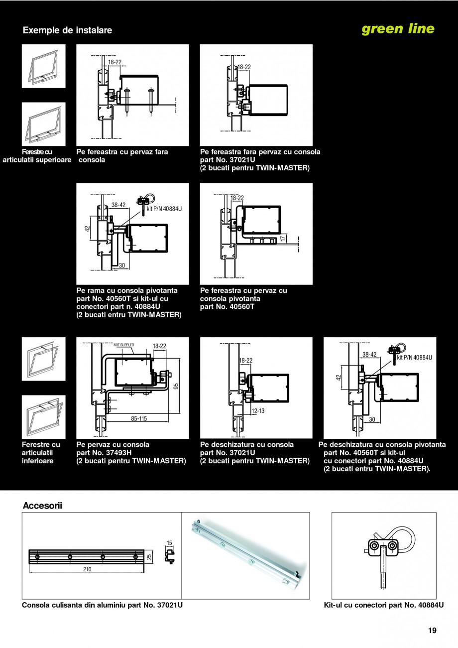 Pagina 16 -  Automatizari profesionale pentru ferestre KADRA Catalog, brosura Romana RBTIA DE...