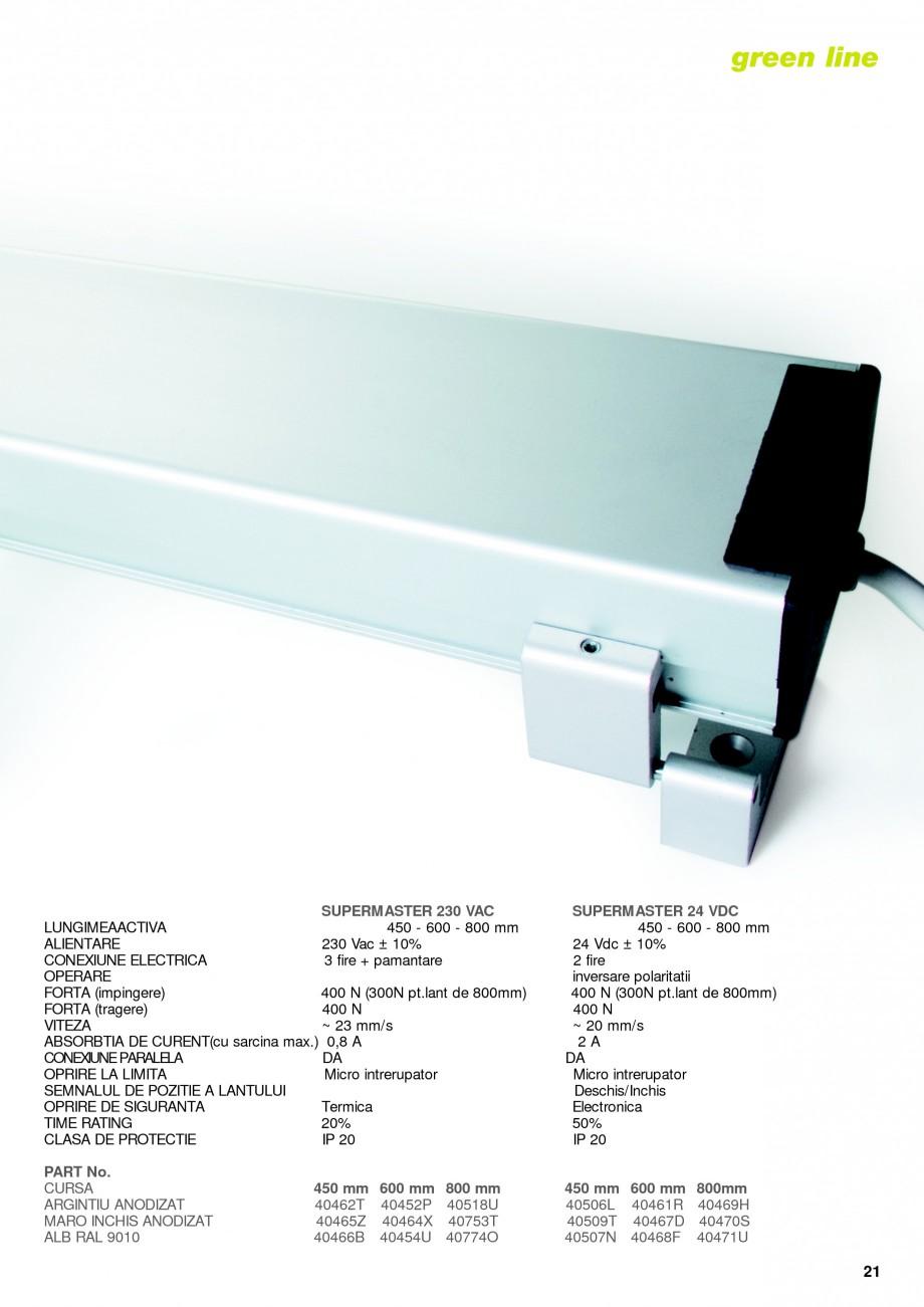 Pagina 18 -  Automatizari profesionale pentru ferestre KADRA Catalog, brosura Romana si consola part...