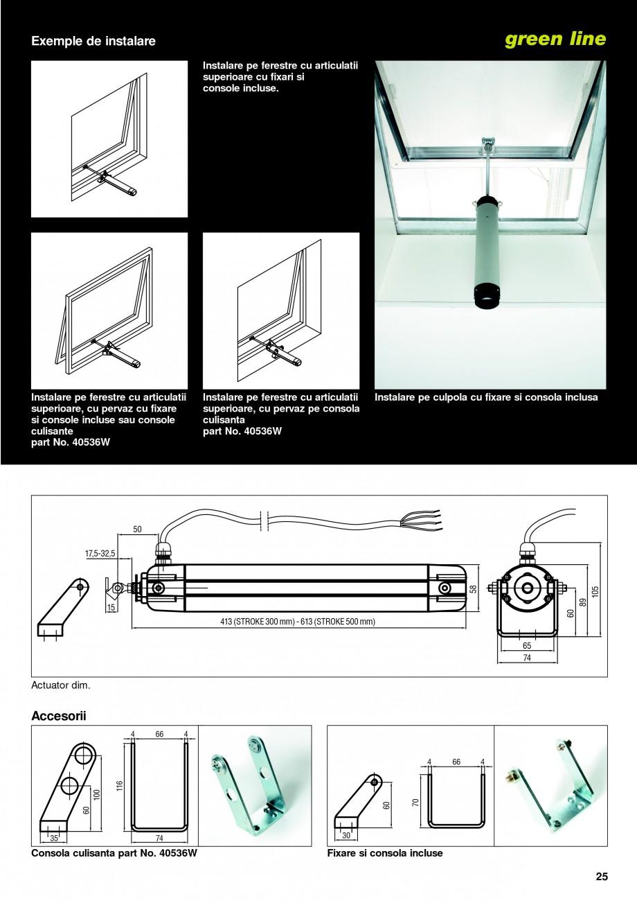 Pagina 22 -  Automatizari profesionale pentru ferestre KADRA Catalog, brosura Romana a Electronica...