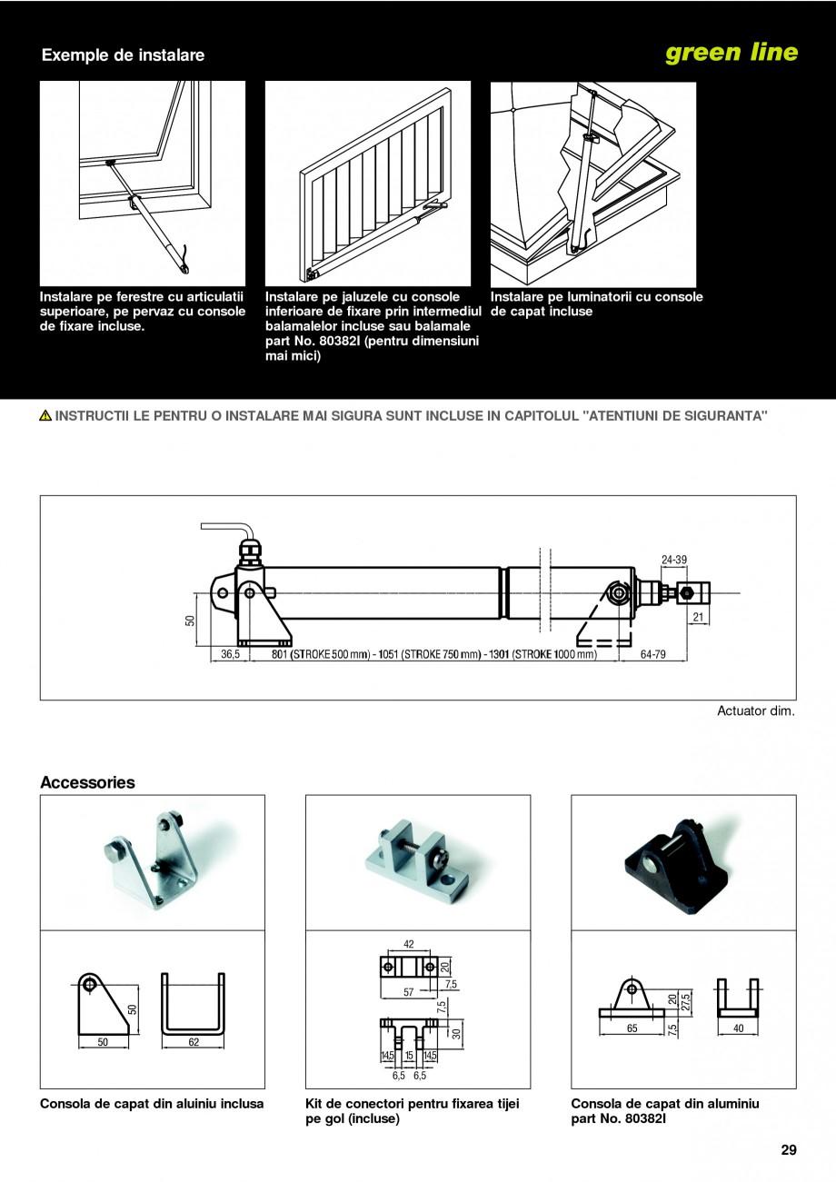 Pagina 26 -  Automatizari profesionale pentru ferestre KADRA Catalog, brosura Romana malele in...