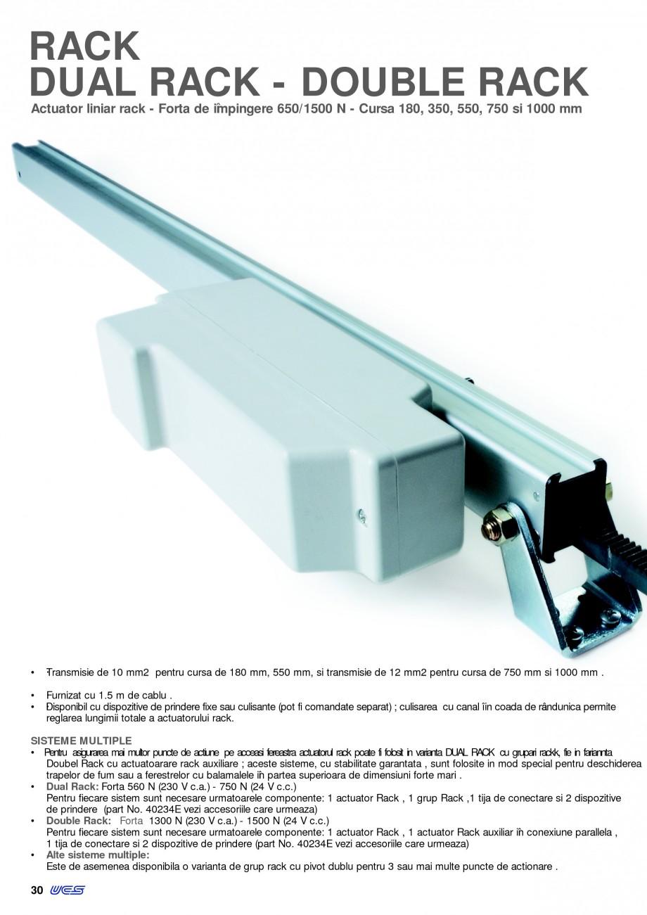 Pagina 27 -  Automatizari profesionale pentru ferestre KADRA Catalog, brosura Romana L DE OPRIRE LA ...