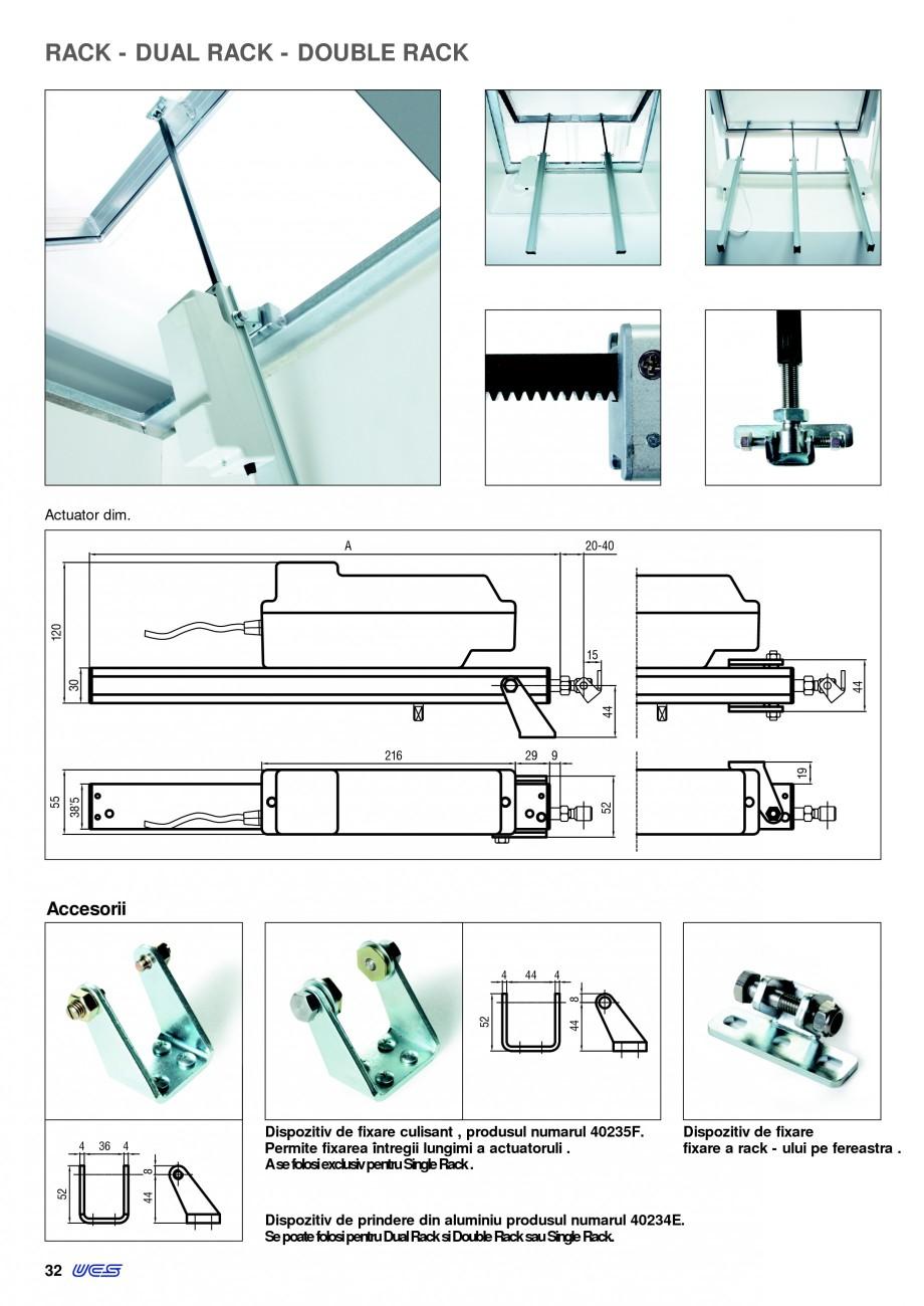 Pagina 29 -  Automatizari profesionale pentru ferestre KADRA Catalog, brosura Romana e pe un...