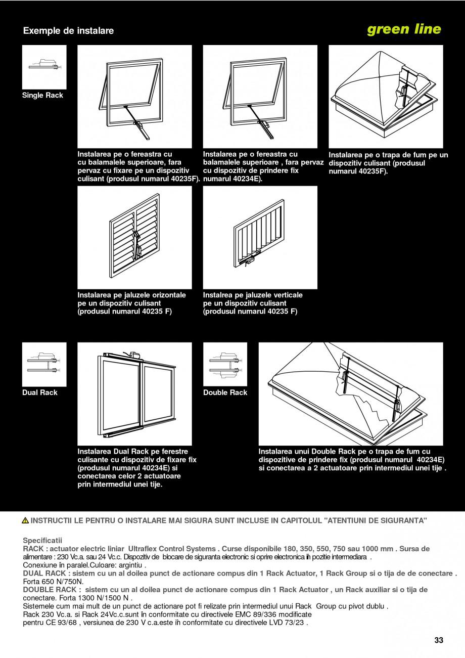 Pagina 30 -  Automatizari profesionale pentru ferestre KADRA Catalog, brosura Romana e conectare ....