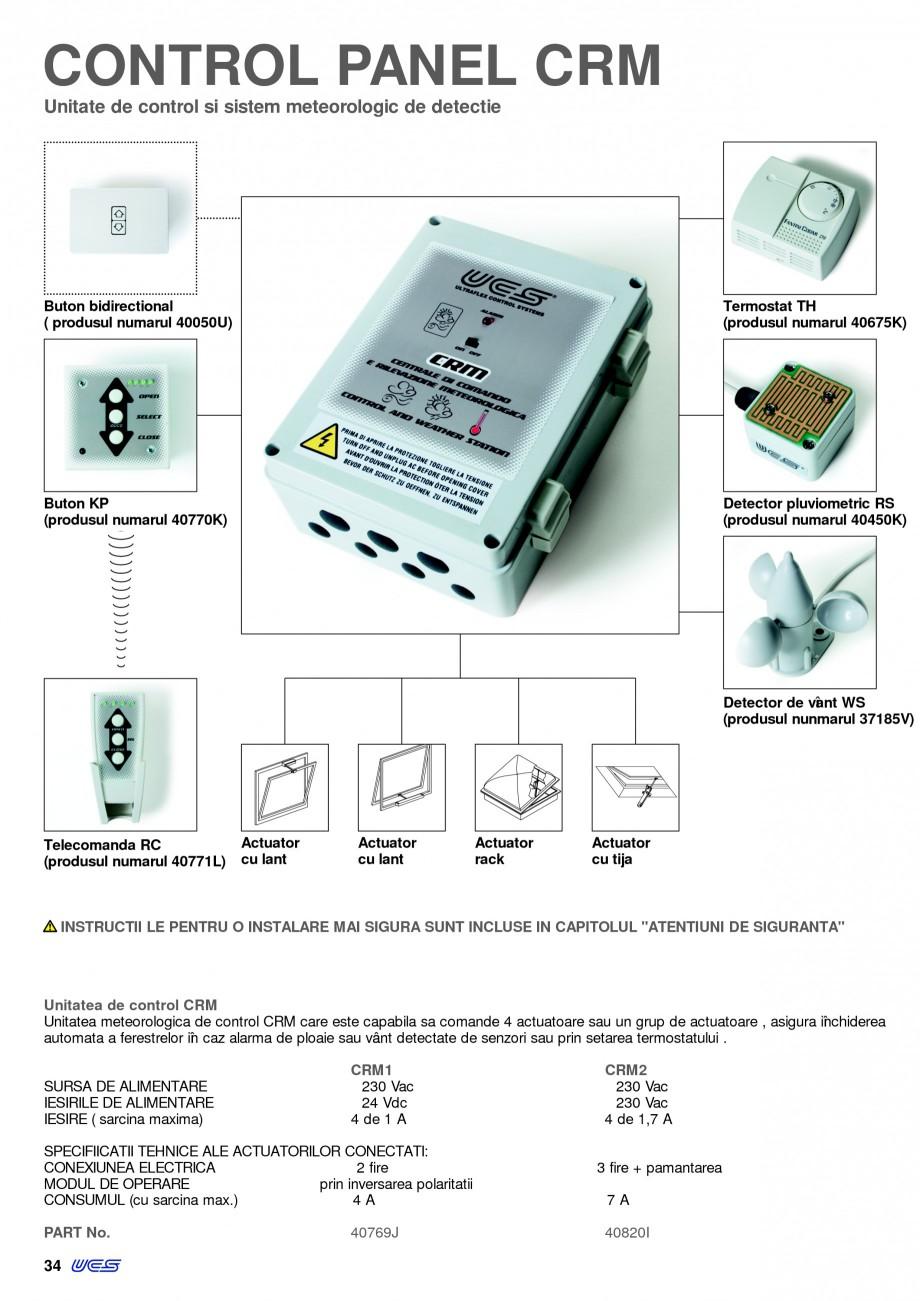 Pagina 31 -  Automatizari profesionale pentru ferestre KADRA Catalog, brosura Romana e control CRM...