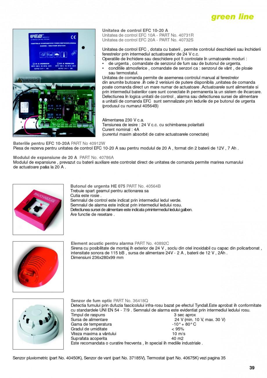 Pagina 36 -  Automatizari profesionale pentru ferestre KADRA Catalog, brosura Romana  spatiu deschis...