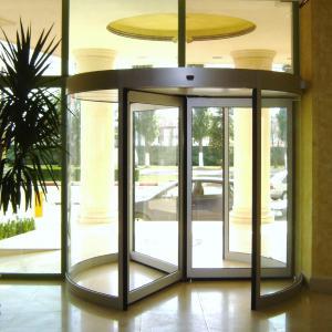 Usa rotativa din sticla VALOR TEN SPRINT REX CIVIK WEL BLASI Usi pentru sectorul medical Automatizari