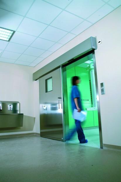 Exemplificarea utilizarii usilor automate in spital Usi pentru sectorul medical Usi medicale automate