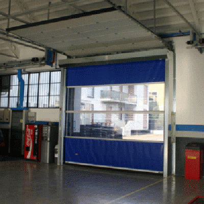 Porti industriale cu deschidere rapida SIATEC - Poza 6