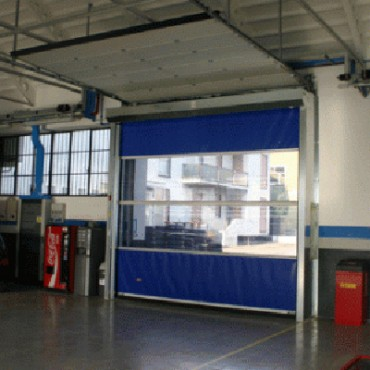 Prezentare produs Porti industriale cu deschidere rapida SIATEC - Poza 6