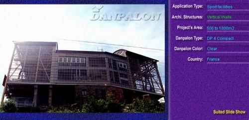 Pereti cortina, din placi de policarbonat COMPACT DANPALON - Poza 2