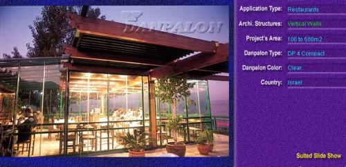 Pereti cortina, din placi de policarbonat COMPACT DANPALON - Poza 3