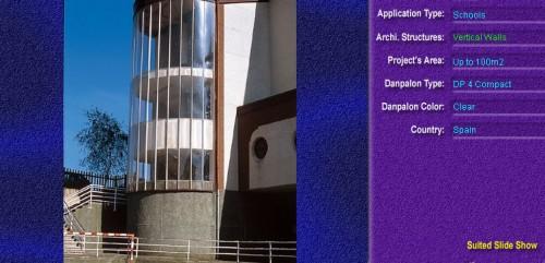 Pereti cortina, din placi de policarbonat COMPACT DANPALON - Poza 4