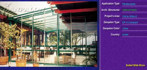 Pereti cortina, din placi de policarbonat COMPACT DANPALON - Poza 6