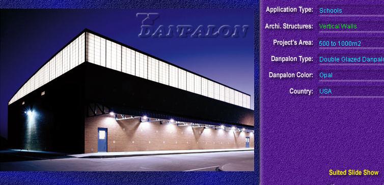 Pereti cortina, din placi de policarbonat DOUBLE GLAZURED DANPALON - Poza 1