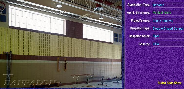 Pereti cortina, din placi de policarbonat DOUBLE GLAZURED DANPALON - Poza 2