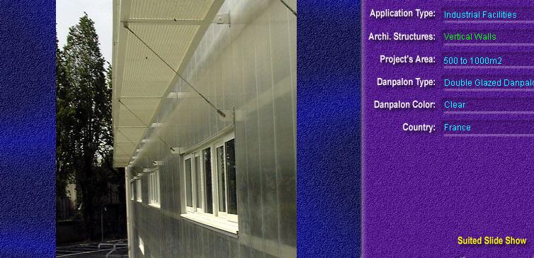 Pereti cortina, din placi de policarbonat DOUBLE GLAZURED DANPALON - Poza 3