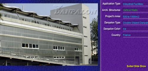 Pereti cortina, din placi de policarbonat DOUBLE GLAZURED DANPALON - Poza 5