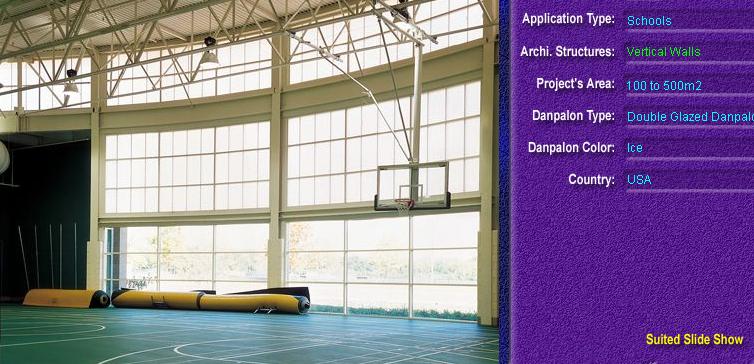Pereti cortina, din placi de policarbonat DOUBLE GLAZURED DANPALON - Poza 7