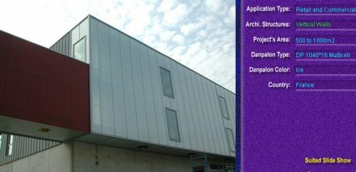 Pereti cortina, din placi de policarbonat MULTICELL DANPALON - Poza 5