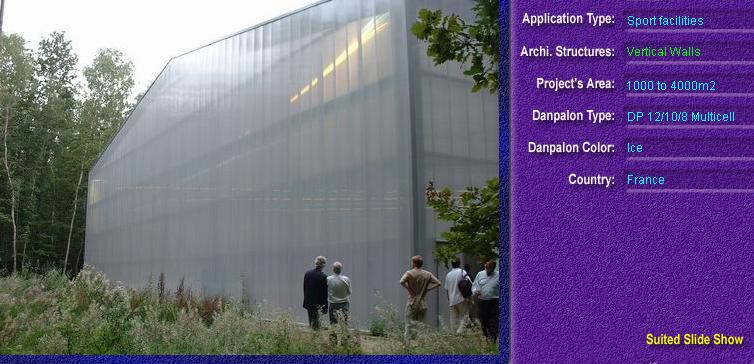 Pereti cortina, din placi de policarbonat MULTICELL DANPALON - Poza 7