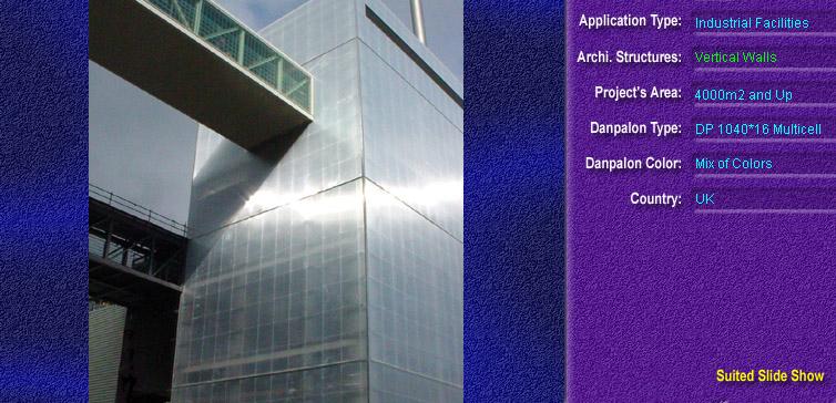 Pereti cortina, din placi de policarbonat MULTICELL DANPALON - Poza 8