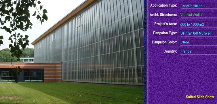 Pereti cortina, din placi de policarbonat MULTICELL DANPALON - Poza 12
