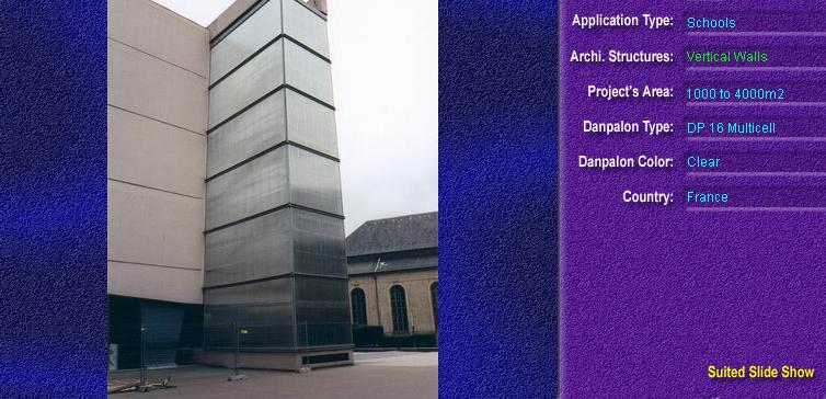Pereti cortina, din placi de policarbonat MULTICELL DANPALON - Poza 17
