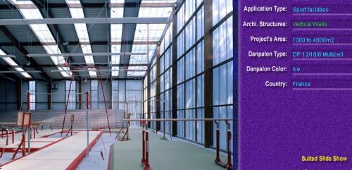 Pereti cortina, din placi de policarbonat MULTICELL DANPALON - Poza 20