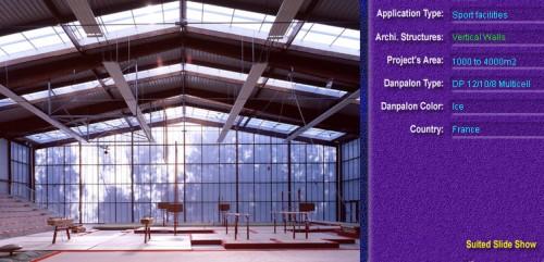Pereti cortina, din placi de policarbonat MULTICELL DANPALON - Poza 21