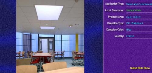 Pereti cortina, din placi de policarbonat MULTICELL DANPALON - Poza 26