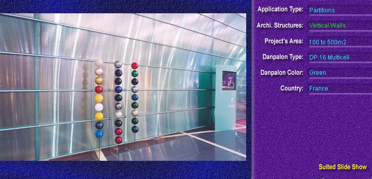 Pereti cortina, din placi de policarbonat MULTICELL DANPALON - Poza 28