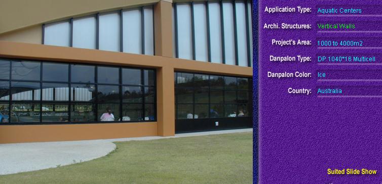 Pereti cortina, din placi de policarbonat MULTICELL DANPALON - Poza 35
