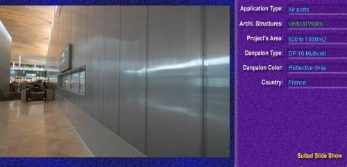 Pereti cortina, din placi de policarbonat MULTICELL DANPALON - Poza 36