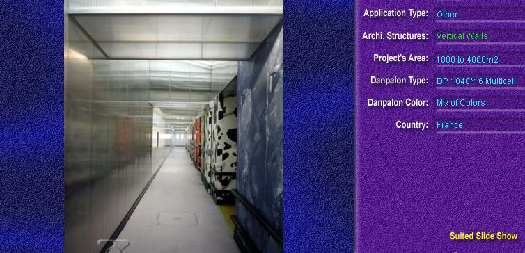 Pereti cortina, din placi de policarbonat MULTICELL DANPALON - Poza 37