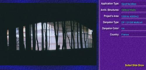 Pereti cortina, din placi de policarbonat MULTICELL DANPALON - Poza 40