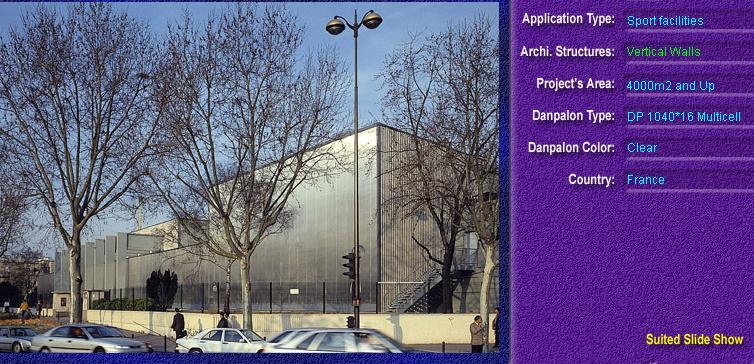 Pereti cortina, din placi de policarbonat MULTICELL DANPALON - Poza 42