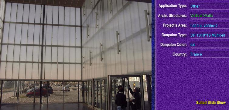 Pereti cortina, din placi de policarbonat MULTICELL DANPALON - Poza 45
