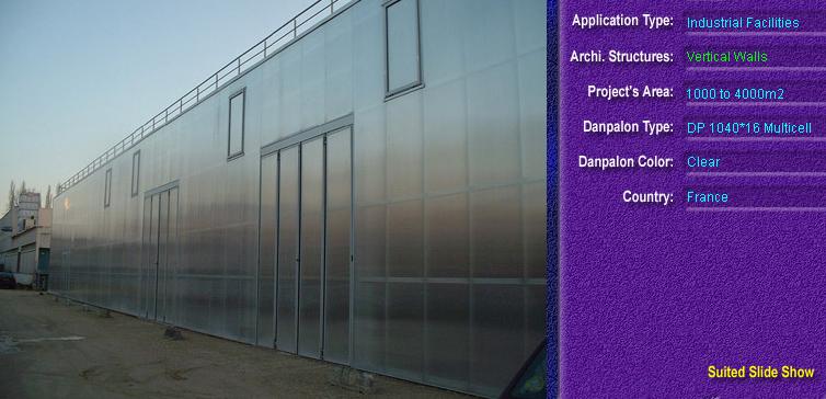 Pereti cortina, din placi de policarbonat MULTICELL DANPALON - Poza 48
