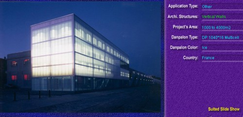 Pereti cortina, din placi de policarbonat MULTICELL DANPALON - Poza 50