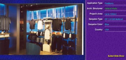 Pereti cortina, din placi de policarbonat MULTICELL DANPALON - Poza 51