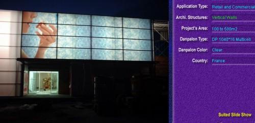 Pereti cortina, din placi de policarbonat MULTICELL DANPALON - Poza 53